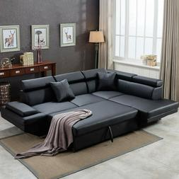 FDW Sofa Sectional Futon Sofa Bed Living Room Sofas Couches