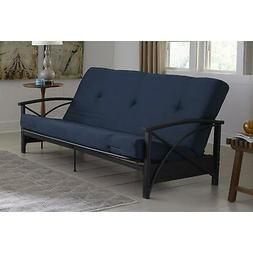 "Tufted Futon Mattress Mainstays 6"" - Multiple Colors,"